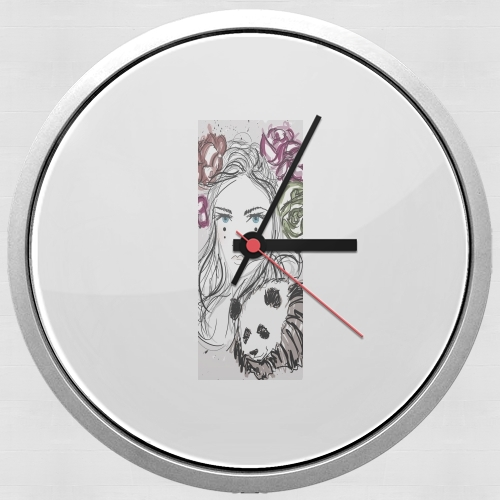 Miss Mime for Wall clock