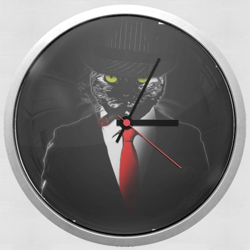 Mobster Cat for Wall clock