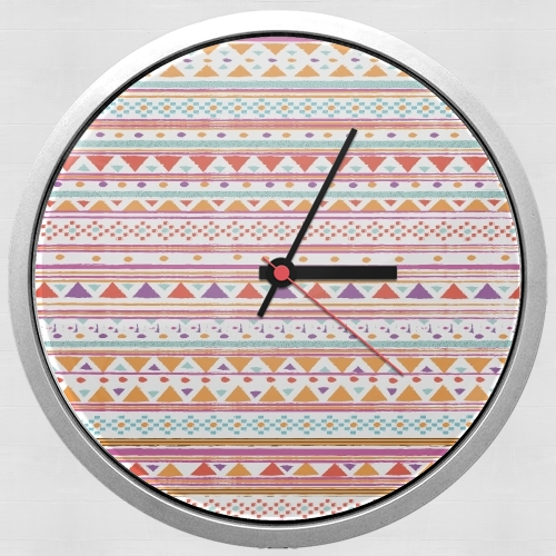Native Bandana Aztec for Wall clock