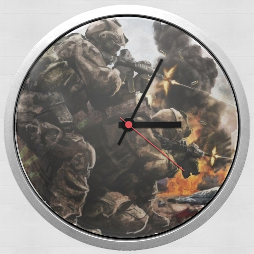 Navy Seals Team for Wall clock