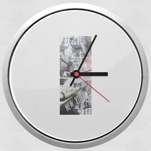 New York 2 for Wall clock