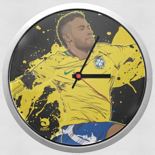 Neymar Carioca Paris for Wall clock