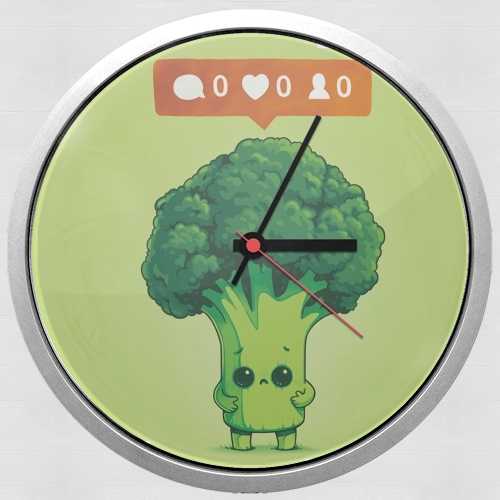 Nobody Loves Me - Vegetables is good for Wall clock