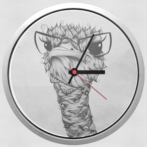 Ostrich for Wall clock