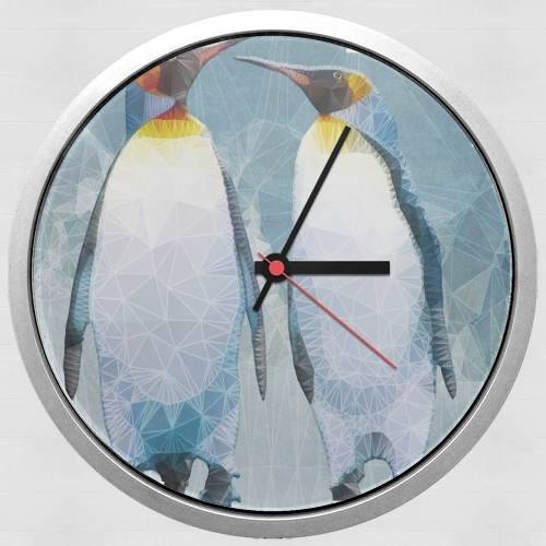 penguin love for Wall clock