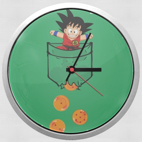Pocket Collection: Goku Dragon Balls for Wall clock
