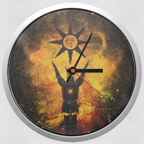 Praise the Sun Art for Wall clock