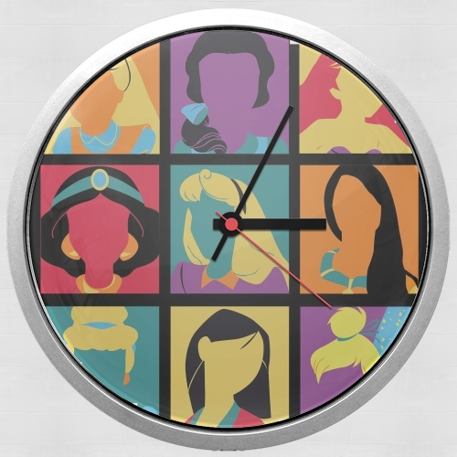 Princess pop for Wall clock