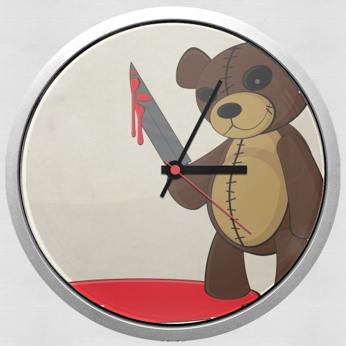 Psycho Teddy for Wall clock