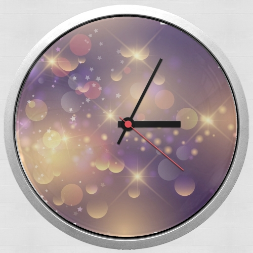 Purple Sparkles for Wall clock