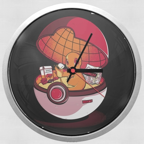Red Pokehouse  for Wall clock