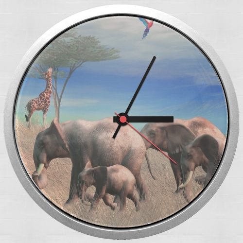 Safari for Wall clock