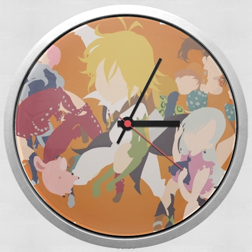 Seven Deadly Sins for Wall clock