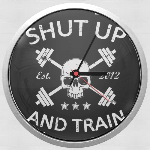Shut Up and Train for Wall clock