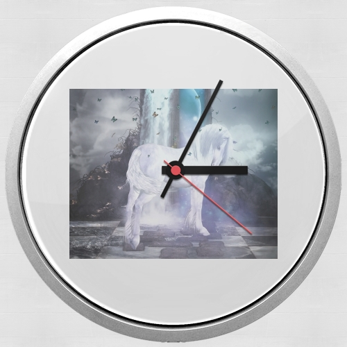 Silver Unicorn for Wall clock