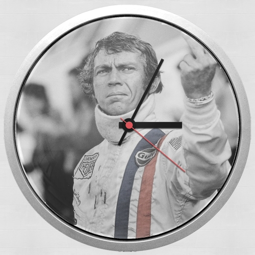 steve mcqueen for Wall clock