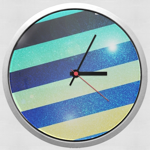 Striped Colorful Glitter for Wall clock