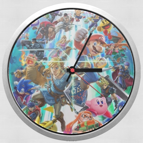 Super Smash Bros Ultimate for Wall clock