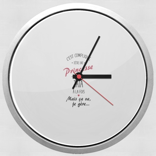 Tata et Princesse for Wall clock