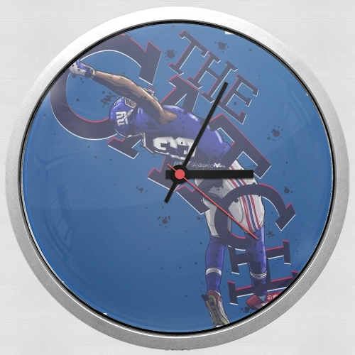 The Catch NY Giants for Wall clock