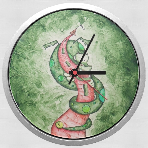 The Dragon and The Tower for Wall clock