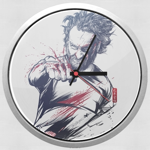 The Fury of Rick for Wall clock