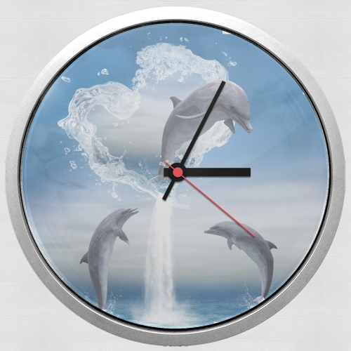 The Heart Of The Dolphins for Wall clock