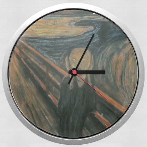 The Scream for Wall clock