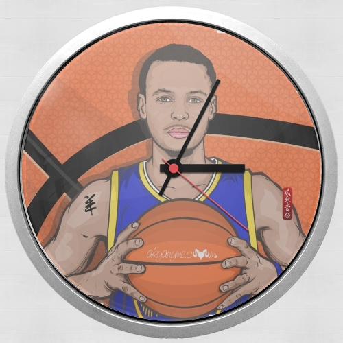 The Warrior of the Golden Bridge - Curry30 for Wall clock