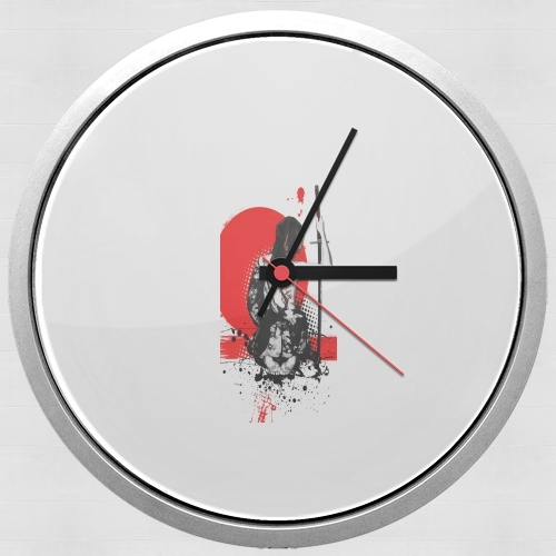 Trash Polka - Female Samurai for Wall clock