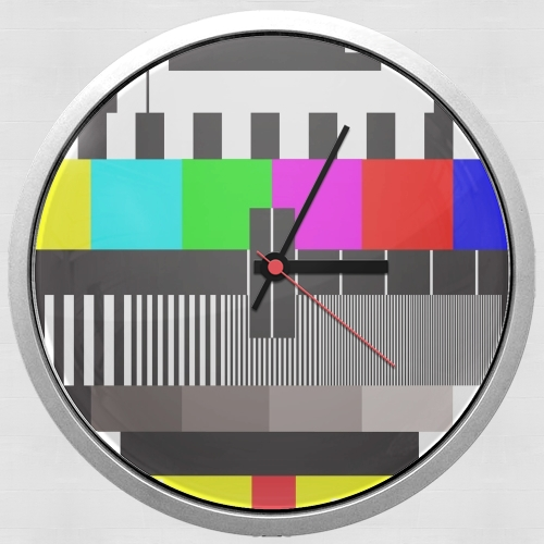 tv test screen for Wall clock
