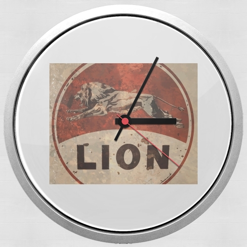 Vintage Gas Station Lion for Wall clock