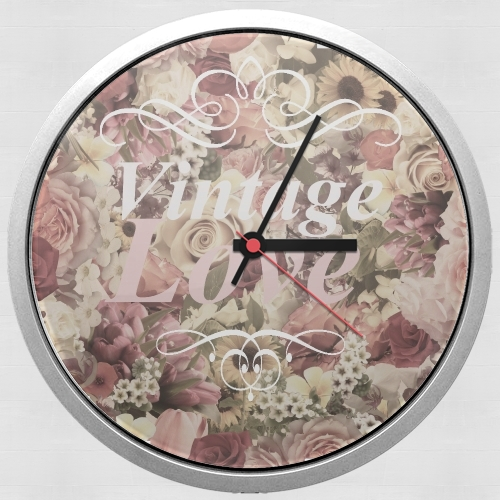 Vintage Love for Wall clock