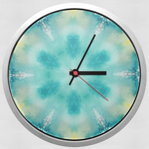 watercolor tiedye for Wall clock