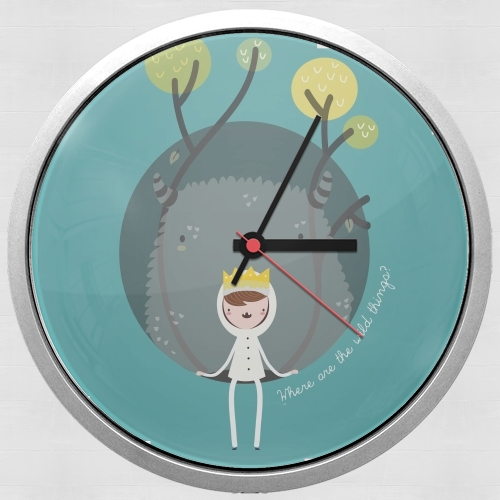 Where the wild things are for Wall clock