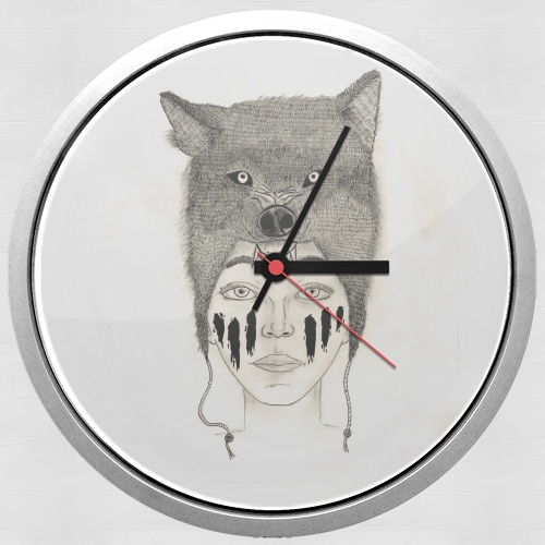 Wolf warrior for Wall clock