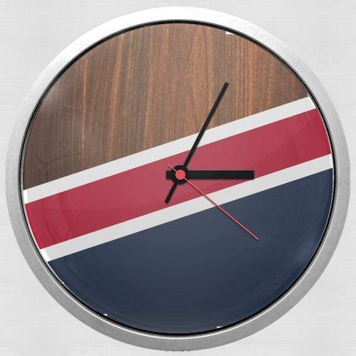 Wooden New England for Wall clock