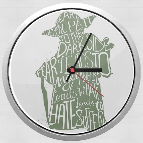 Yoda Force be with you for Wall clock