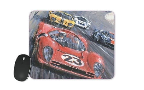 24h du mans for Mousepad