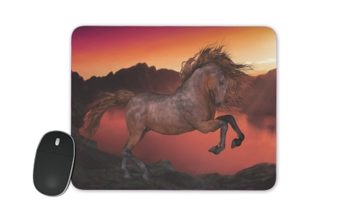 A Horse In The Sunset for Mousepad