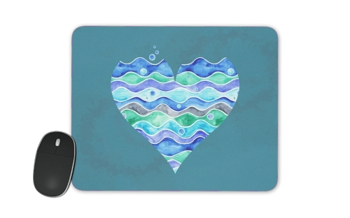 A Sea of Love (blue) for Mousepad