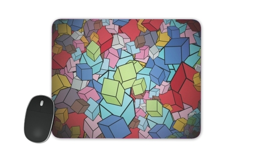 Abstract Cool Cubes for Mousepad