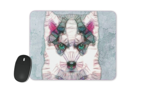 abstract husky puppy for Mousepad