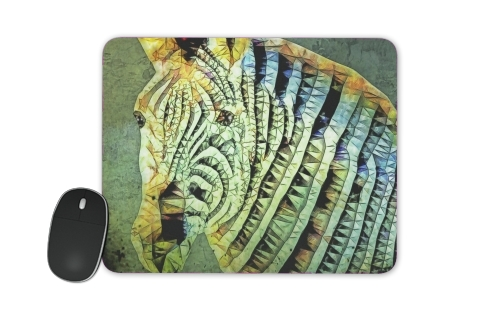 abstract zebra for Mousepad