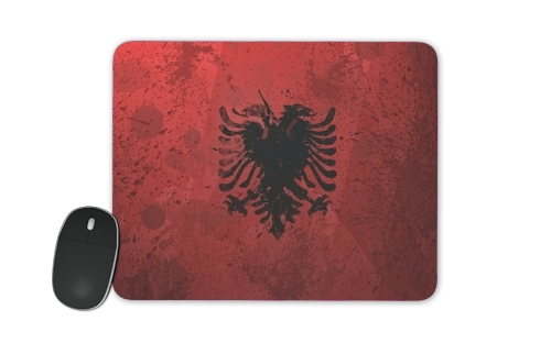 Albanie Painting Flag for Mousepad