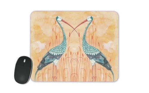An Exotic Crane for Mousepad