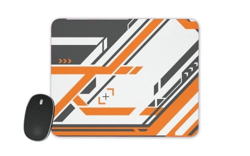 Asiimov Counter Strike Weapon for Mousepad
