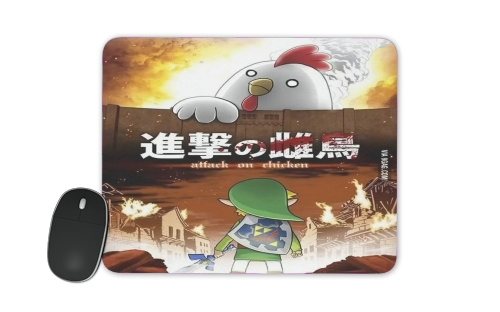 Attack On Chicken for Mousepad