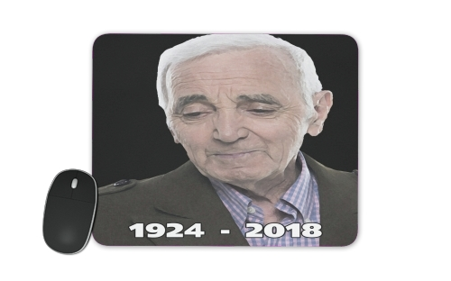 Aznavour Hommage Fan Tribute for Mousepad