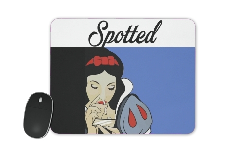 Blanche neige cocaine for Mousepad